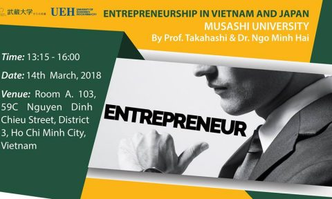 Hội thảo: Entrepreneuership in Vietnam and Japan