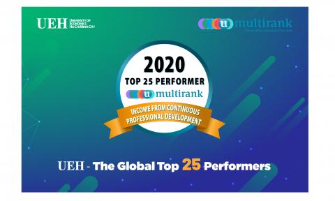 UEH nằm trong top 25 đại học tốt nhất thế giới đóng góp cho sự phát triển nghề nghiệp suốt đời