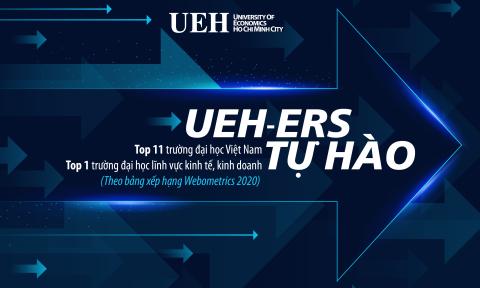 UEH xếp hạng 11 trong 176 trường đại học tại Việt Nam theo bảng xếp hạng Webometrics 2020
