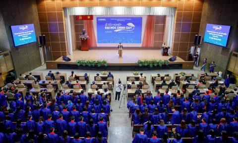 Lễ Tốt Nghiệp Đại Học Chính Quy Khoa Quản Trị K43 3/2021
